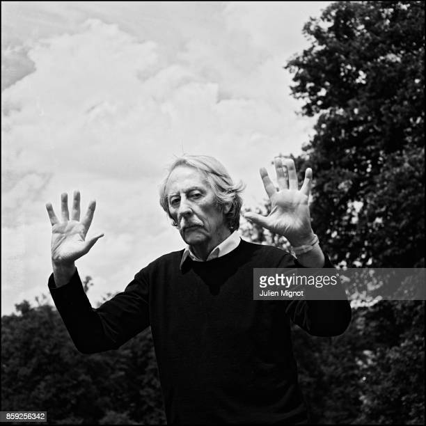 Actor Jean Rochefort is photographed for Self Assignment on September 24 2008 in Paris France