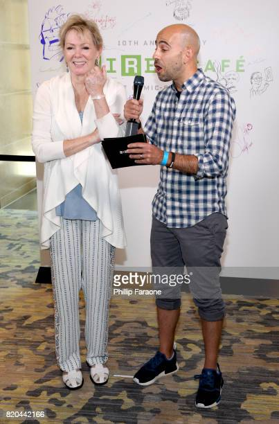 Actor Jean Smart at 2017 WIRED Cafe at Comic Con presented by ATT Audience Network on July 21 2017 in San Diego California