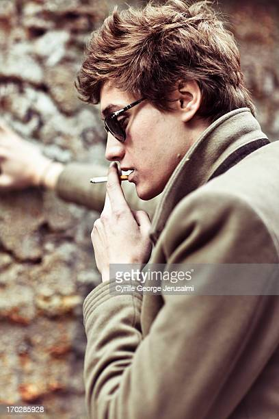 Actor JeanBaptiste Maunier is photographed for Self Assignment on September 1 2012 in Paris France