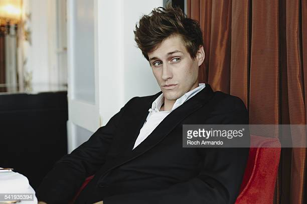 Actor JeanBaptiste Maunier is photographed for Self Assignment on June 10 2016 in Cabourg France