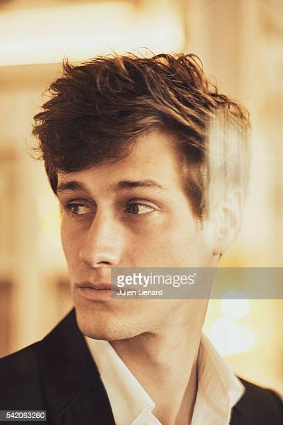 Actor JeanBaptiste Maunier is photographed for Self Assignment on June 11 2016 in Cabourg France