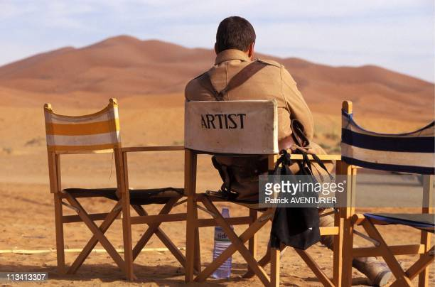Actor JeanClaude Van Damme On The Set Of 'Legionnaire' On December 1St 1997 In ErfoudMorocco