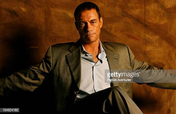 Actor JeanClaude Van Damme poses during a private portrait session on October 1 2008 in Bangkok Thailand