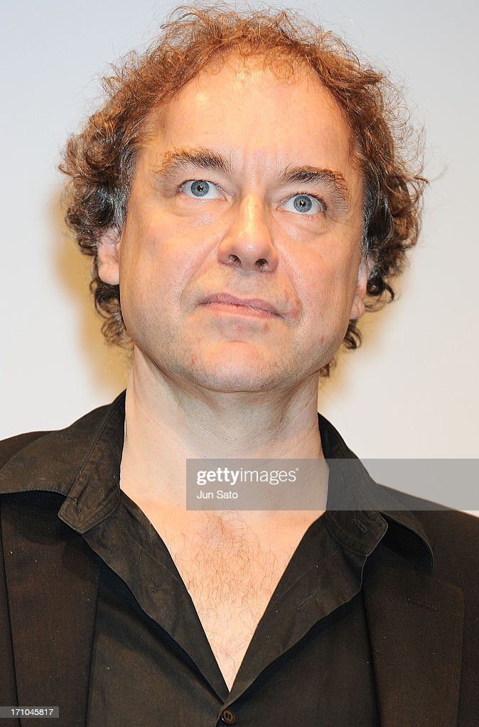 Actor Jean-Francois Sivadier attends the French Film Festival 2013 at Yurakucho Asahi Hall on June 21, 2013 in Tokyo, Japan.
