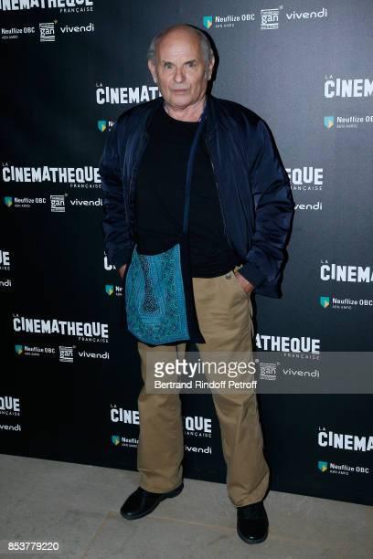 Actor JeanFrancois Stevenin attends the 'Un beau soleil interieur' Paris Premiere at La Cinematheque on September 25 2017 in Paris France