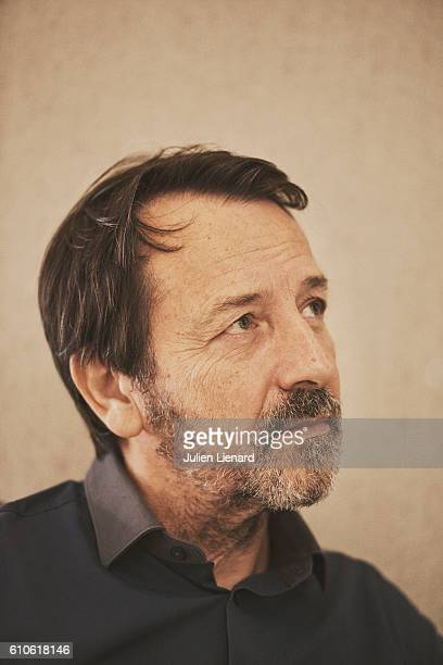 Actor JeanHugues Anglade is photographed for Le Film Francais on September 8 2016 in Paris France