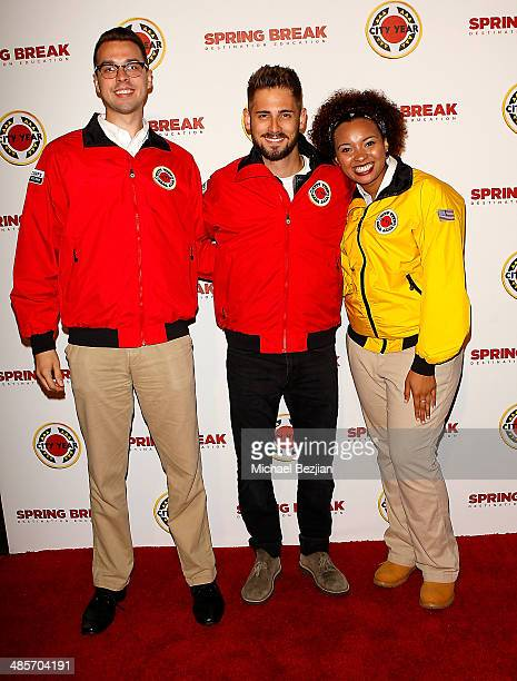 Actor JeanLuc Bilodeau and City Year Los Angeles AmeriCorps members attend the City Year Los Angeles 'Spring Break' Fundraiser at Sony Studios on...