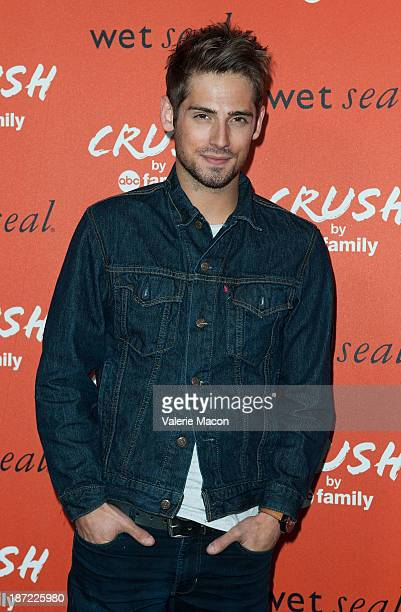 Actor JeanLuc Bilodeau arrives at the Launch Celebration Of Crush By ABC Family at The London Hotel on November 6 2013 in West Hollywood California