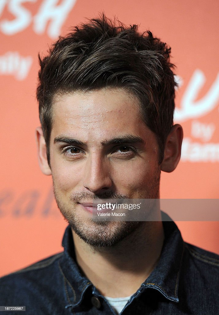 Actor <a gi-track='captionPersonalityLinkClicked' href=/galleries/search?phrase=Jean-Luc+Bilodeau&family=editorial&specificpeople=4432495 ng-click='$event.stopPropagation()'>Jean-Luc Bilodeau</a> arrives at the Launch Celebration Of Crush By ABC Family at The London Hotel on November 6, 2013 in West Hollywood, California.