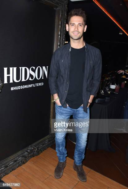 Actor JeanLuc Bilodeau attends a private event hosted by Hudson at Hyde Staples Center for a Red Hot Chili Peppers concert on March 7 2017 in Los...