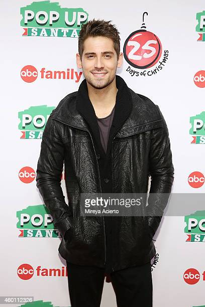 Actor JeanLuc Bilodeau attends ABC's '25 Days Of Christmas' Celebration at Cucina at Rockerfellar Center on December 7 2014 in New York City