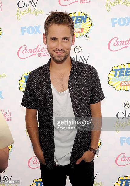 Actor JeanLuc Bilodeau attends FOX's 2014 Teen Choice Awards at The Shrine Auditorium on August 10 2014 in Los Angeles California