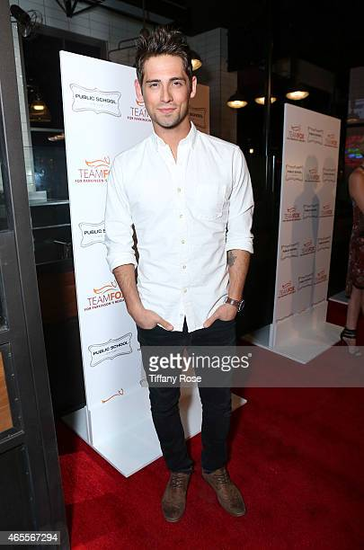 Actor JeanLuc Bilodeau attends Raising The Bar To End Parkinson's at Public School 818 on March 7 2015 in Sherman Oaks California