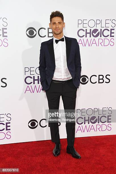Actor JeanLuc Bilodeau attends the People's Choice Awards 2017 at Microsoft Theater on January 18 2017 in Los Angeles California