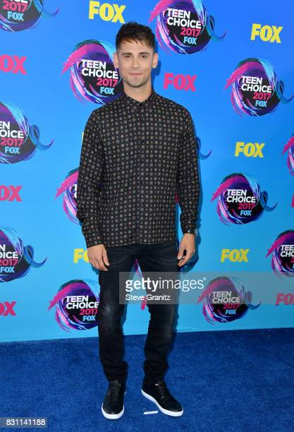 Actor JeanLuc Bilodeau attends the Teen Choice Awards 2017 at Galen Center on August 13 2017 in Los Angeles California