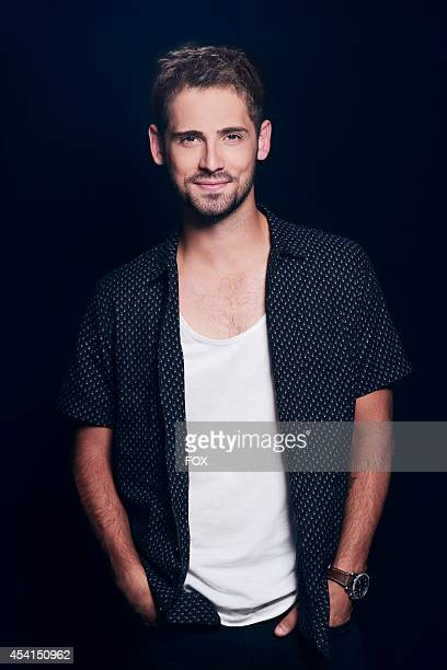 Actor JeanLuc Bilodeau is photographed at the Fox 2014 Teen Choice Awards at The Shrine Auditorium on August 10 2014 in Los Angeles California