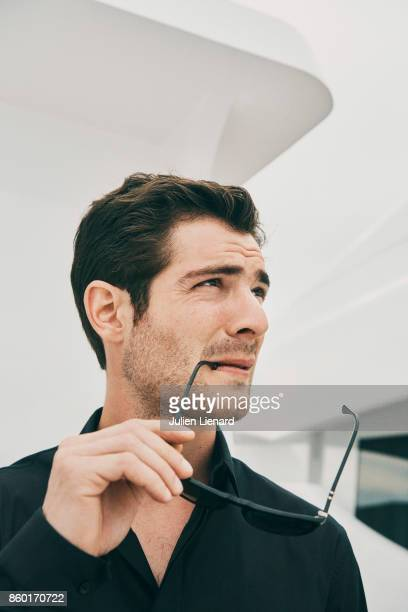 Actor JeanMarc Michelangeli is photographed for Self Assignment on May 22 2017 in Cannes France