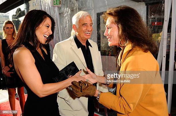 Actor JeanPaul Belmondo and actress Jacqueline Bisset attend the Opening Night Gala of the newly restored 'A Star Is Born' premiere at Grauman's...