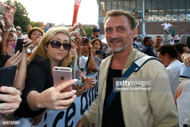 Actor JeanPaul Rouve attends the 10th Angouleme FrenchSpeaking Film Festival Day Four on August 25 2017 in Angouleme France