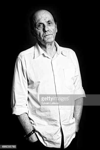 Actor JeanPierre Bacri is photographed for Self Assignment on June 19 2017 in Lille France