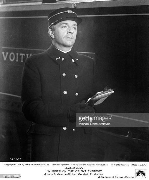 Actor JeanPierre Cassel on the set of the Paramount Pictures movie 'Murder on the Orient Express' in 1974