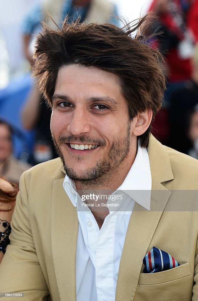 Actor Jean-Sebastien Courchesne attends the 'Sarah Prefere La Course' Photocall during The 66th Annual Cannes Film Festival at the Palais des Festivals on May 21, 2013 in Cannes, France.