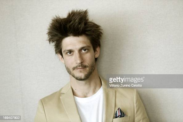 Actor JeanSebastien Courchesne of 'Sarah Prefere La Course' poses for a portrait during The 66th Annual Cannes Film Festival on May 24 2013 in Cannes...