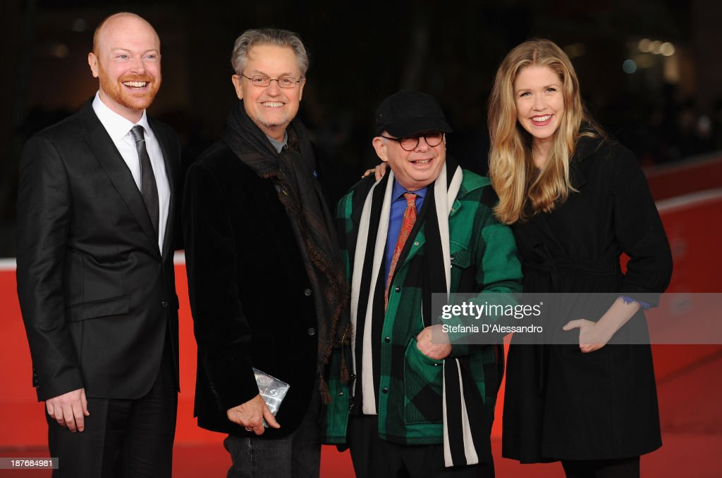 Actor Jeff Biehl with director Jonathan Demme and actors Wallace ShawnLisa Joyce attends 'La Santa' Premiere And 'Fear Of Falling' Premiere during...