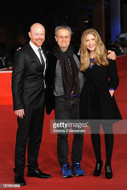 Actor Jeff Biehl with director Jonathan Demme and actress Lisa Joyce attends 'La Santa' Premiere And 'Fear Of Falling' Premiere during The 8th Rome...