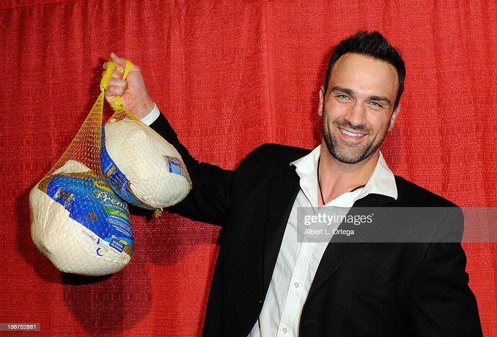 Actor Jeff Bosley arrives for Jackson Limousine Homeless Turkey Drive Red Carpet Gala held at Infusion Lounge on November 19, 2012 in Universal City, California.