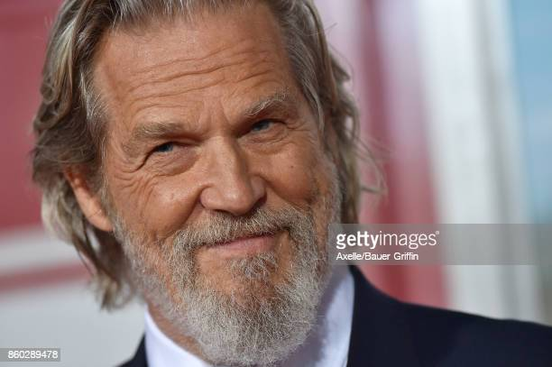 Actor Jeff Bridges arrives at the premiere of 'Only the Brave' at Regency Village Theatre on October 8 2017 in Westwood California