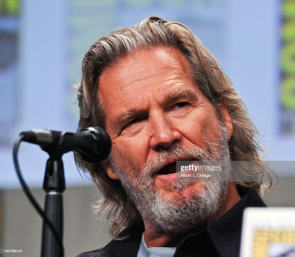 Actor Jeff Bridges at 'The Giver' Presentation ComicCon International 2014 held at San Diego Convention Center on July 24 2014 in San Diego California