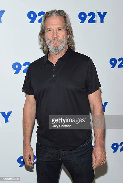 Actor Jeff Bridges attends An Evening With Jeff Bridges And Lois Lowry at 92nd Street Y on August 8 2014 in New York City