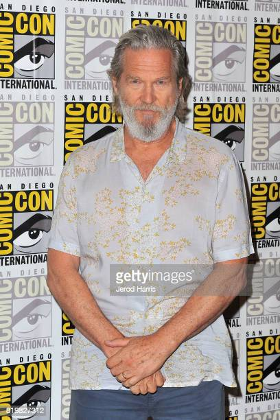 Actor Jeff Bridges attends 'Kingsman The Secret Service' press line at ComicCon International 2017 Day 1 on July 20 2017 in San Diego California