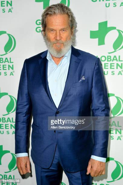 Actor Jeff Bridges attends the 14th Annual Global Green PreOscar Gala at TAO Hollywood on February 22 2017 in Los Angeles California