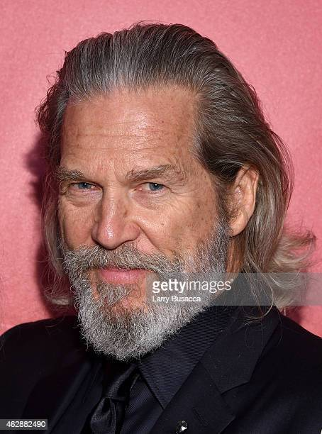Actor Jeff Bridges attends the 25th anniversary MusiCares 2015 Person Of The Year Gala honoring Bob Dylan at the Los Angeles Convention Center on...