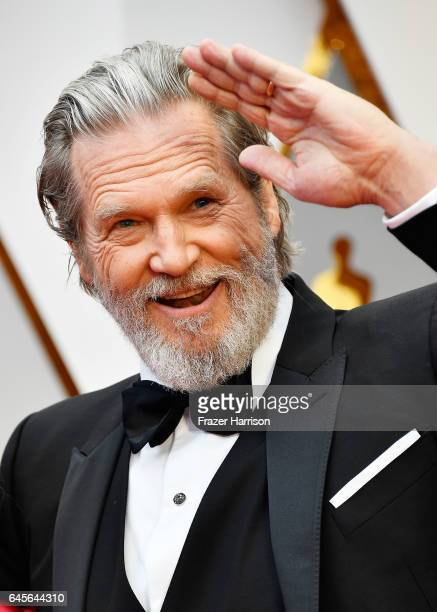 Actor Jeff Bridges attends the 89th Annual Academy Awards at Hollywood Highland Center on February 26 2017 in Hollywood California