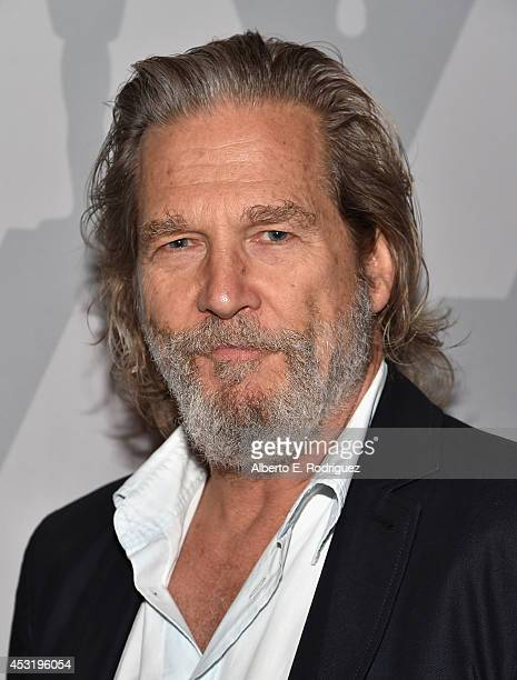 Actor Jeff Bridges attends The Academy of Motion Picture Arts Sciences' Presents Beau and Jeff A Tale of Two Bridges at The Bing Theatre At LACMA on...