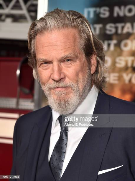 Actor Jeff Bridges attends the premiere of Columbia Pictures' 'Only The Brave' at the Regency Village Theatre on October 8 2017 in Westwood California