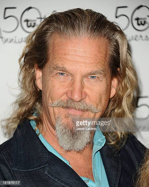 Actor Jeff Bridges attends the Theatre West 50th anniversary gala at Taglyan Cultural Complex on September 13 2012 in Hollywood California