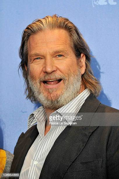 Actor Jeff Bridges attends the 'True Grit' Photocall during the opening day of the 61st Berlin International Film Festival at the Grand Hyatt on...