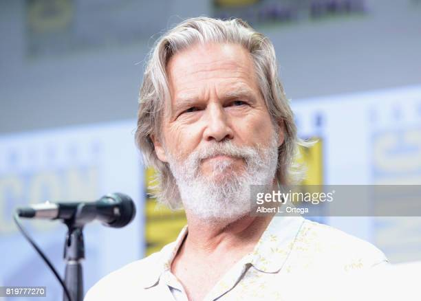 Actor Jeff Bridges speaks onstage at the 20th Century FOX panel during ComicCon International 2017 at San Diego Convention Center on July 20 2017 in...