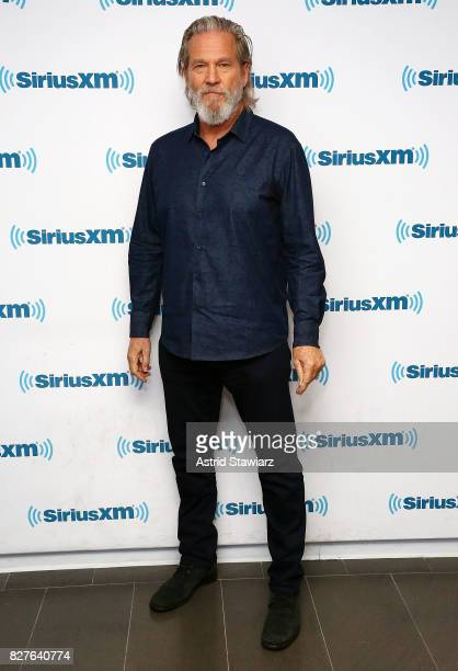 Actor Jeff Bridges visits the SiriusXM Studios on August 8 2017 in New York City