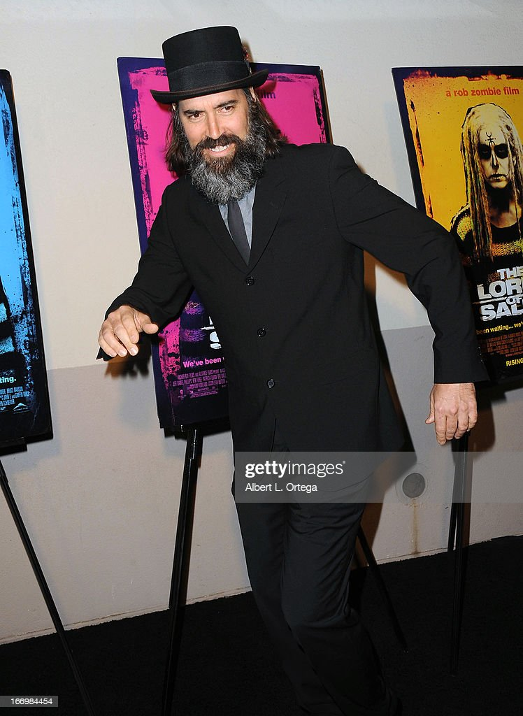 Actor Jeff Daniel Phillips arrives for Fan Screening Of Anchor Bay Films' Rob Zombie's 'The Lords Of Salem' - Arrivalsheld at AMC Burbank 16 on April 18, 2013 in Burbank, California.