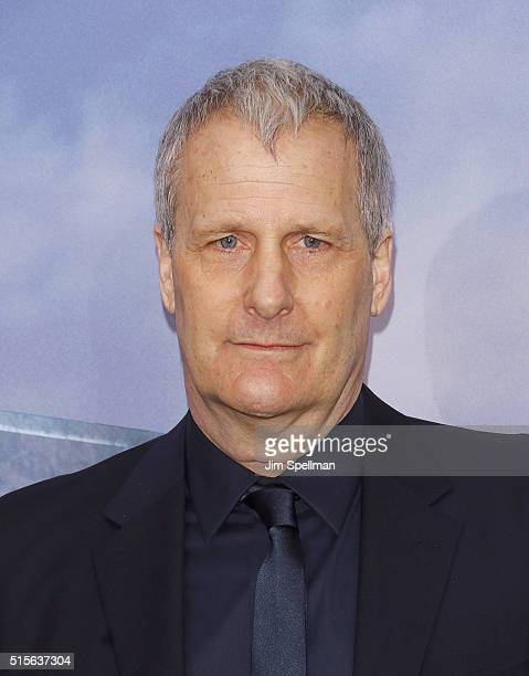 Actor Jeff Daniels attends the 'Allegiant' New York premiere at AMC Loews Lincoln Square 13 theater on March 14 2016 in New York City