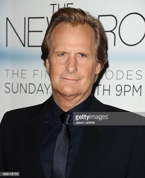 Actor Jeff Daniels attends the premiere of 'The Newsroom' at DGA Theater on November 4 2014 in Los Angeles California