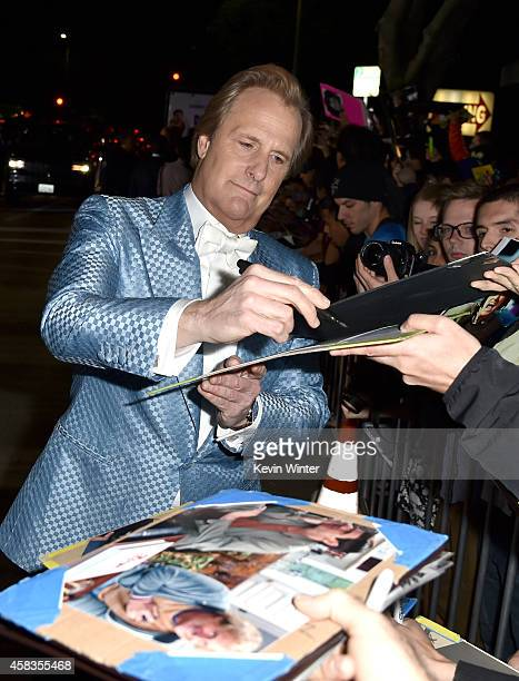Actor Jeff Daniels attends the premiere of Universal Pictures and Red Granite Pictures' 'Dumb And Dumber To' on November 3 2014 in Westwood California