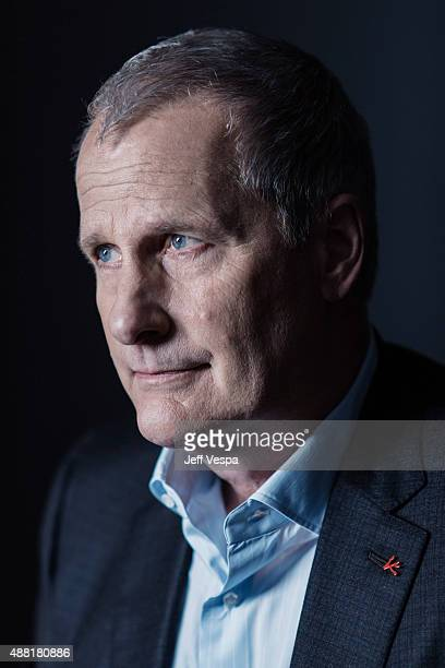 Actor Jeff Daniels of 'The Martian' poses for a portrait at the 2015 Toronto Film Festival at the TIFF Bell Lightbox on September 11 2015 in Toronto...