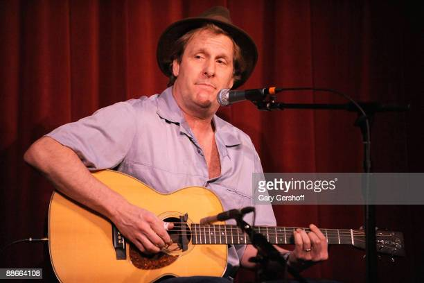 Actor Jeff Daniels performs in concert at City Winery on June 22 2009 in New York City