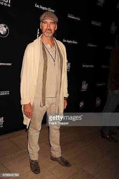 Actor Jeff Fahey arrives premiere of 'Too Late' held at the Bing Theater at LACMA